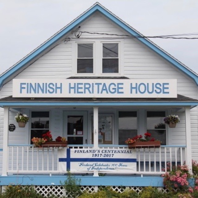 The Finnish Heritage House State Route 131 (172 St. George Road) (click On  This Link To See A Map) P. O. Box 293. South Thomaston, Maine 04858